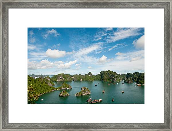 Halong Bay Vietnam Framed Print