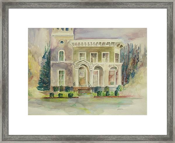 Hamden House Framed Print