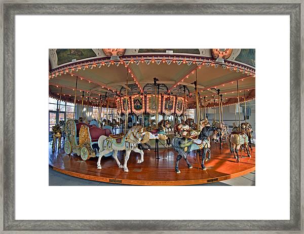 Hampton Carousel 2 Framed Print