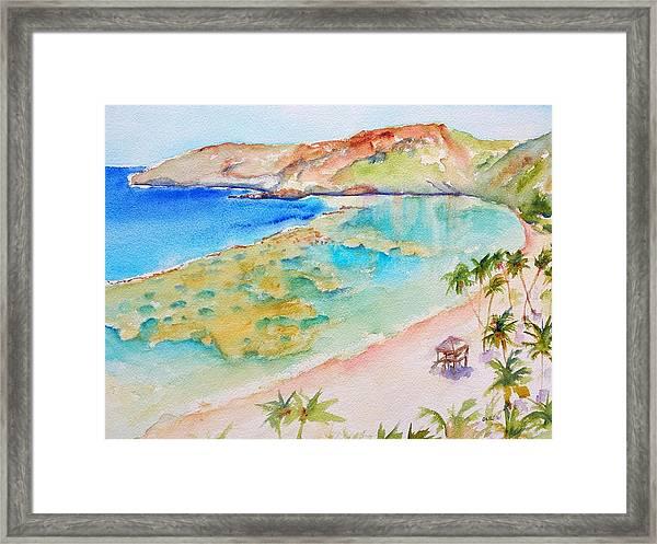 Hanauma Bay Framed Print