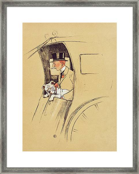 Hansom Cab  Framed Print