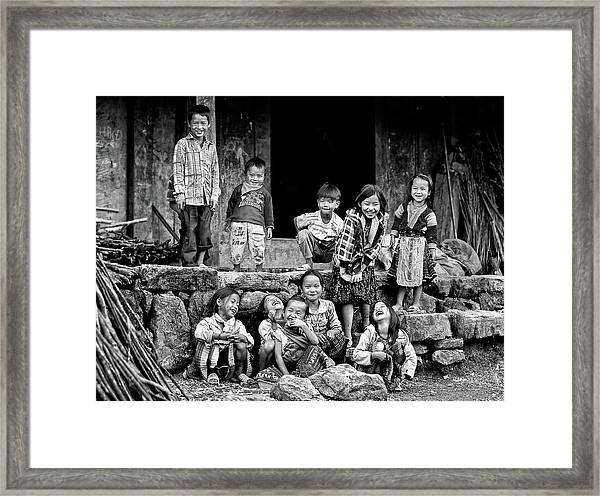 Happiness Is Having Nothing... Framed Print by John Moulds