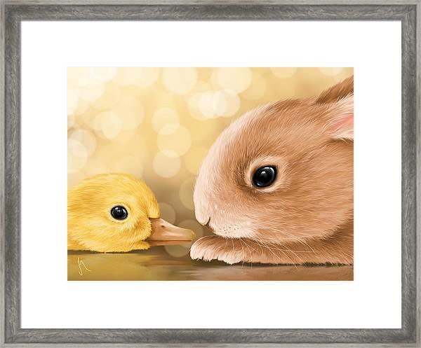 Happy Easter 2014 Framed Print