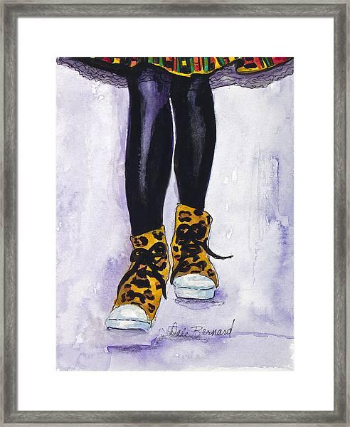 Happy Feet No. 2 Framed Print
