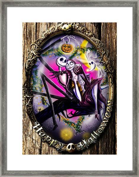 Happy Halloween IIi Framed Print