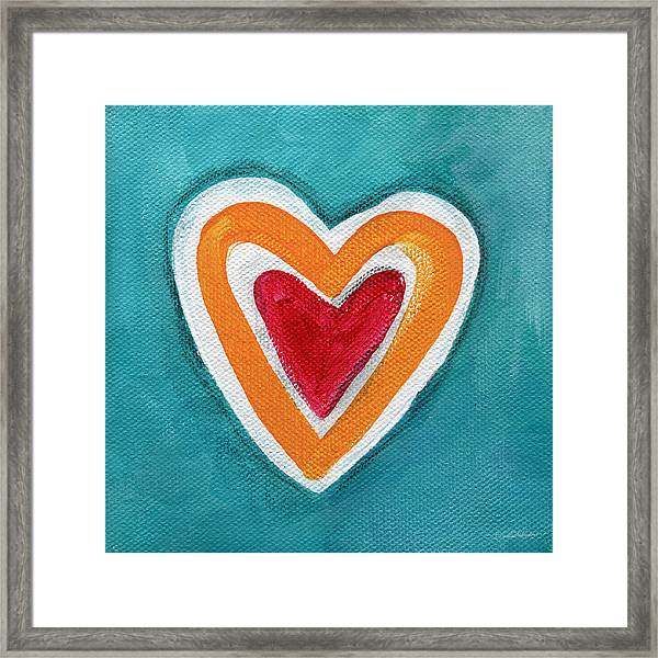 Happy Love Framed Print