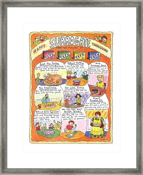 Happy Surrogate Thanksgiving Framed Print