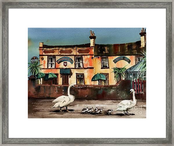 Harbour Bar,,, Bray Framed Print