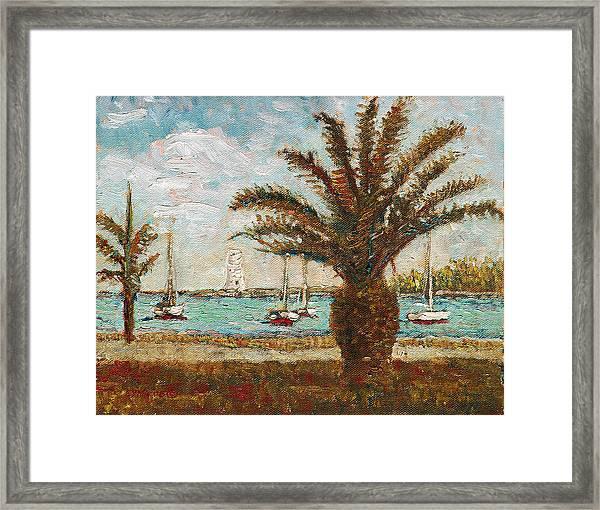 Harbour View - Nassau Framed Print