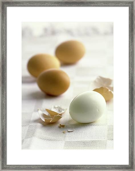 Hard-boiled Eggs Framed Print