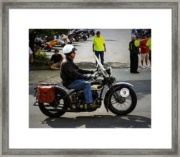 Harley 9 Framed Print