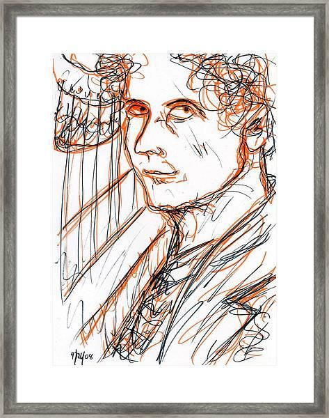 Harpo Marx Framed Print