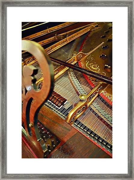 Harpsichord  Framed Print