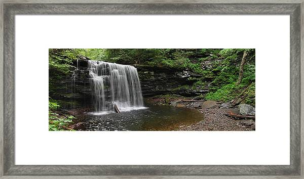 Harrison Wright Falls Framed Print