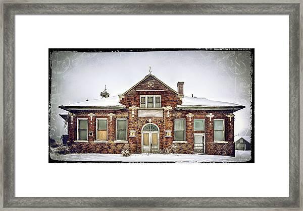 Hart Creamery Framed Print