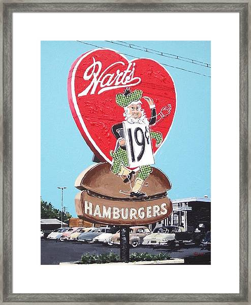 Hart's Framed Print by Paul Guyer