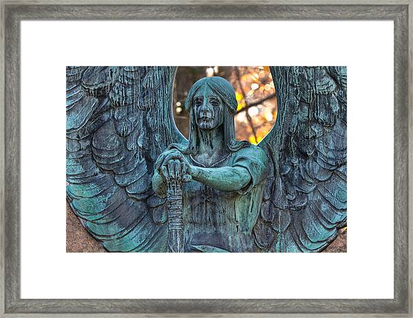Haserot Angel Framed Print