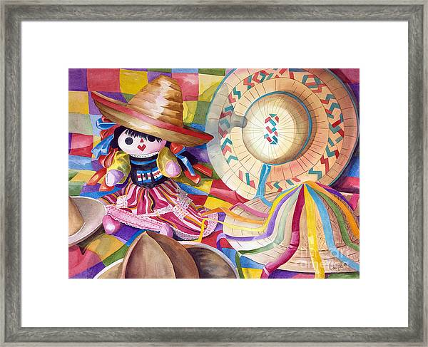 Hat Party IIi Framed Print