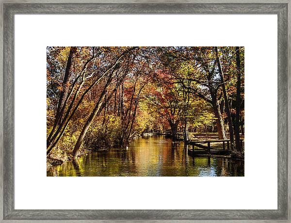 Hatchery In Autumn Framed Print