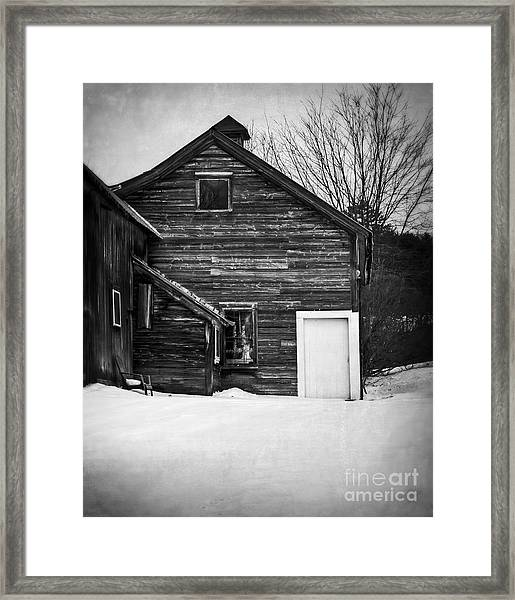 Haunted Old House Framed Print