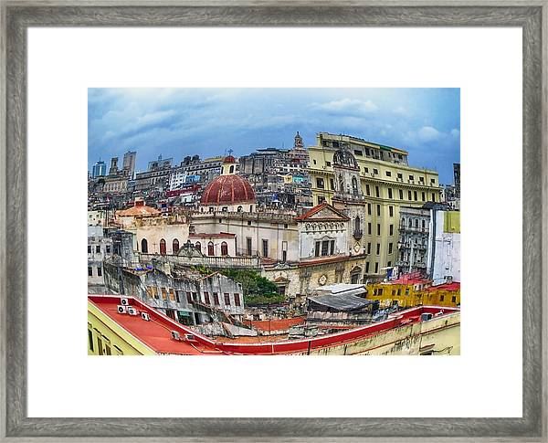 Havana Urban Expression Framed Print