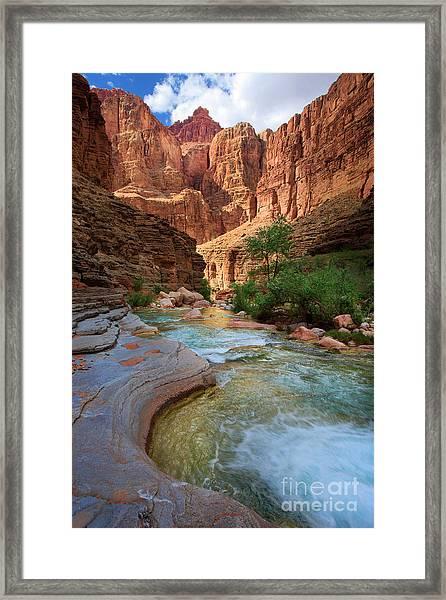 Havasu Creek Framed Print