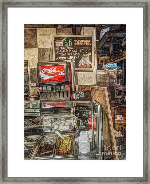 Have A Coke Framed Print