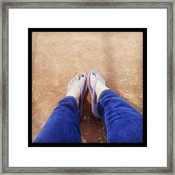 Have To Sit Out My Softball Game Today Framed Print