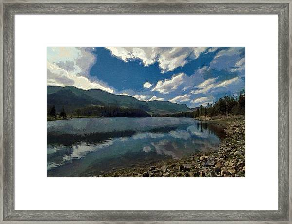 Haviland Lake Framed Print