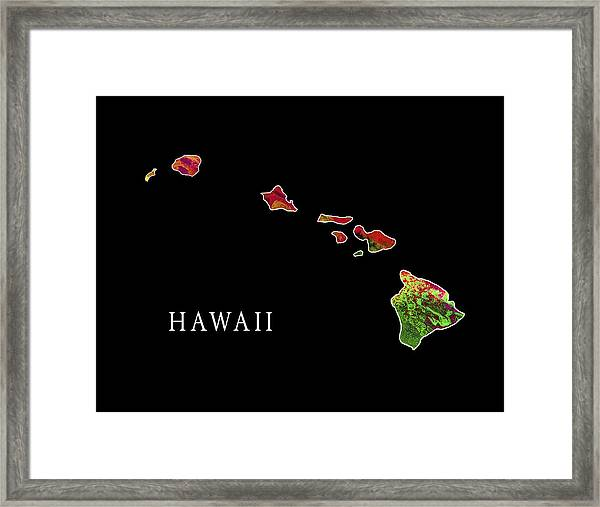 Hawaii State Framed Print