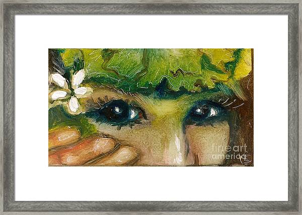 Hawaiian Eyes Framed Print