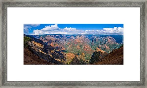 Hawaiian Grand Canyon Framed Print