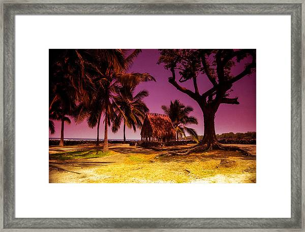 Hawaiian Jail Framed Print