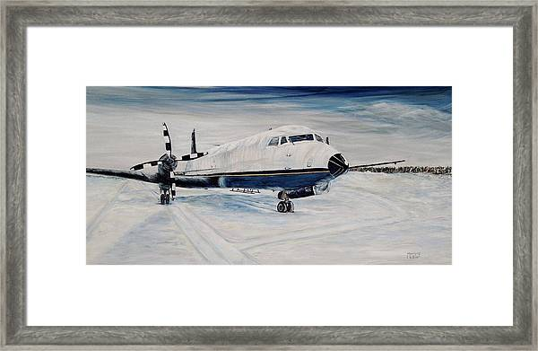 Hawker - Waiting Out The Storm Framed Print