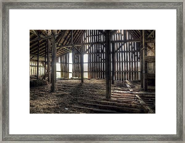 Hay Loft 2 Framed Print