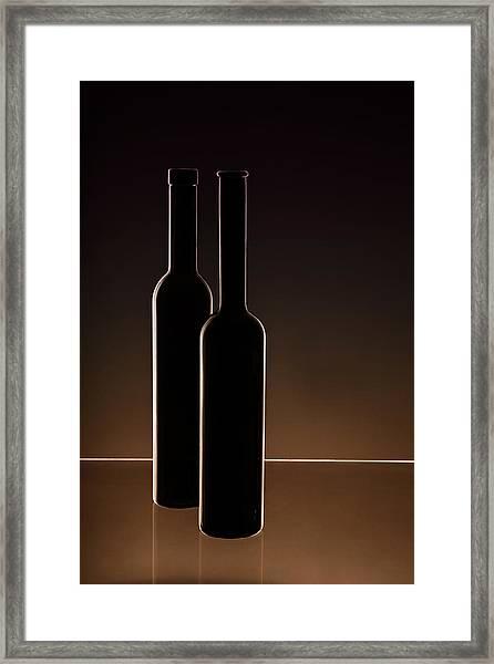 ...he And She... Framed Print by Daniela Bartosova