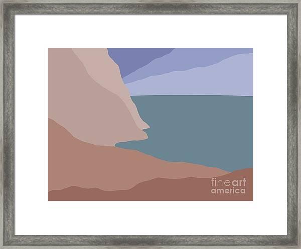 Headlands 3 Framed Print
