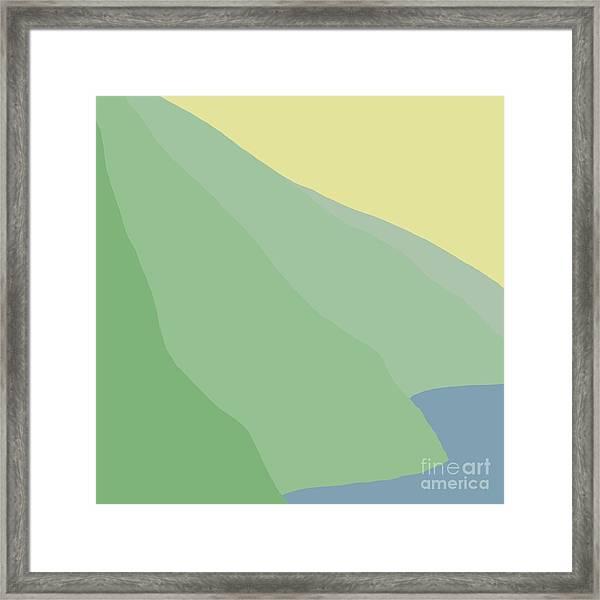 Headlands 6 Framed Print