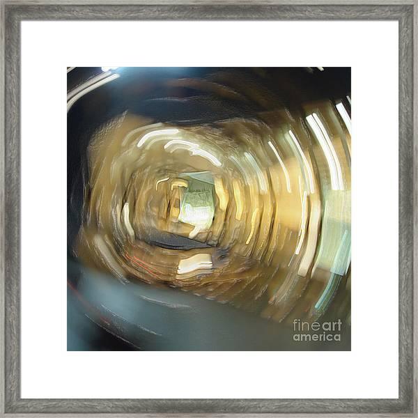 Headspin Framed Print