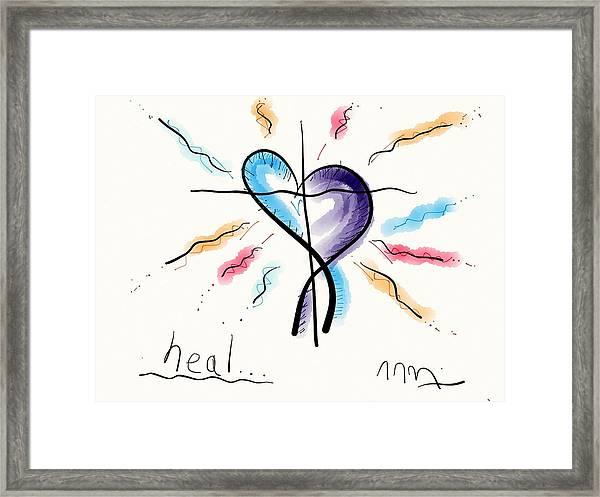 Heal... Framed Print