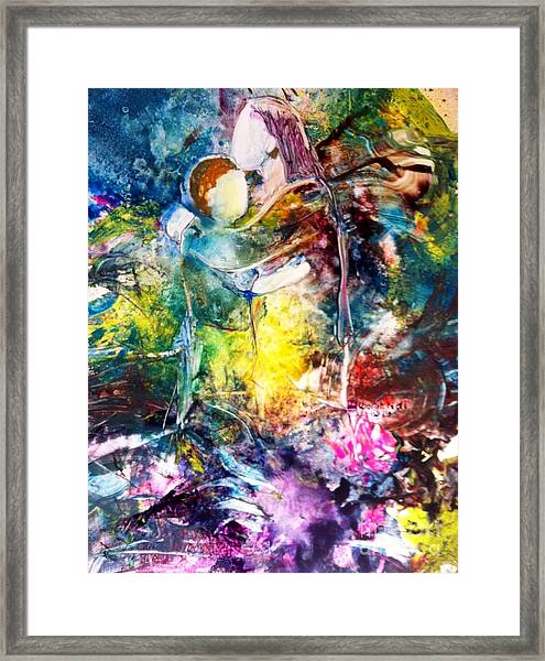 Healing Love Framed Print
