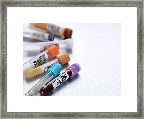 Health Screening Framed Print by Tek Image