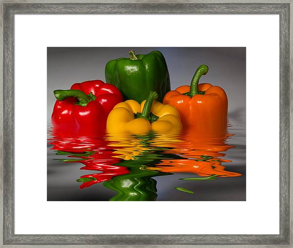 Healthy Reflections Framed Print