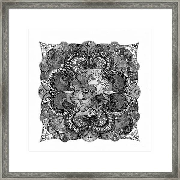 Heart To Heart Framed Print
