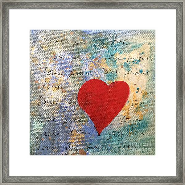 Heart #9 Framed Print