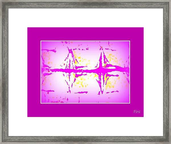 Heart Chart Framed Print