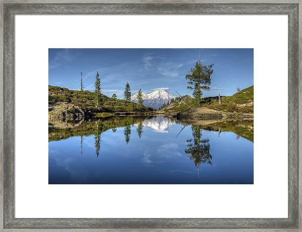 Heart Lake Framed Print