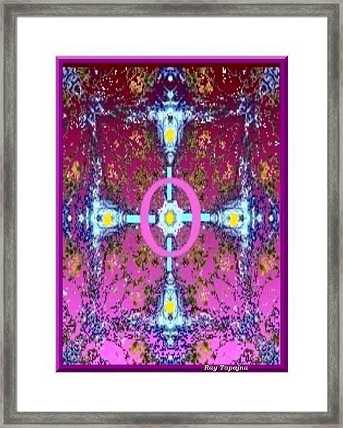 Heart Of My Heart Framed Print by Ray Tapajna