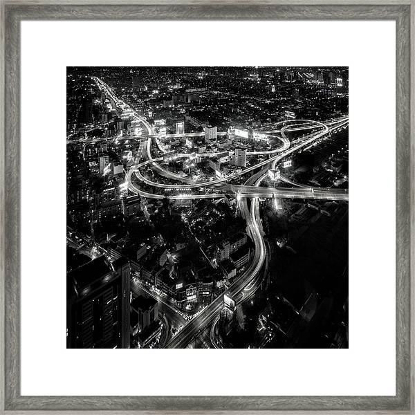 Heart Of The City Framed Print