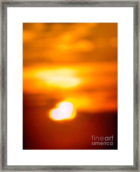 Heart Of The Day Framed Print
